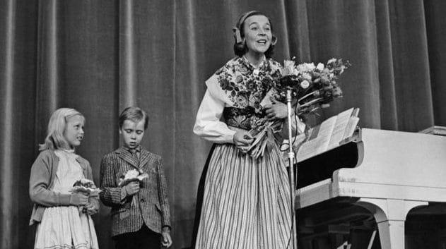Алиса Бабс (Alice Babs): участница евровидения 1958 года из Швеции