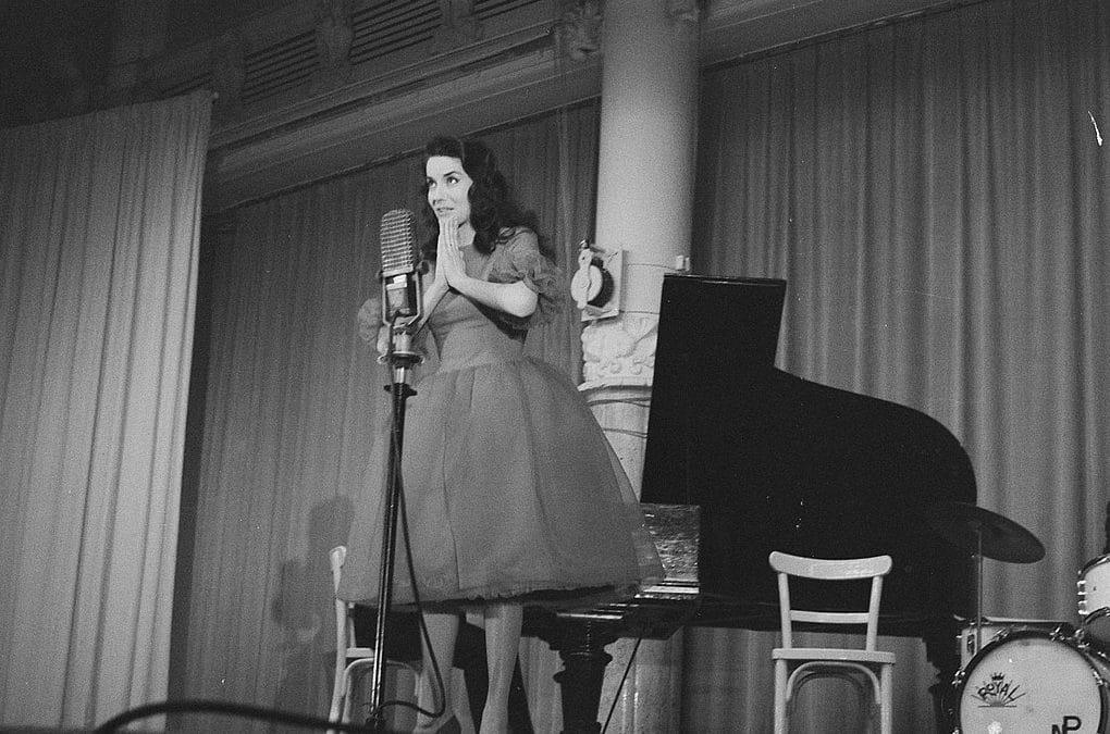 Жаклин Буайе (Jacqueline Boyer) : победительница евровидения 1960 года из Франции