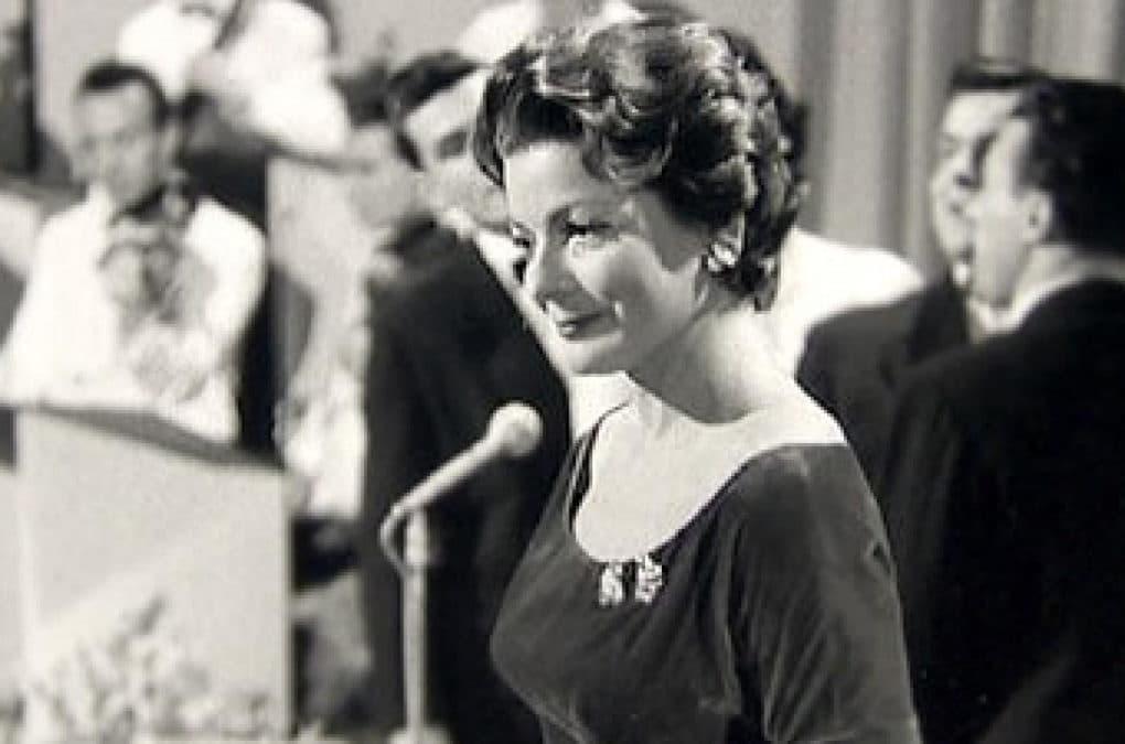 Лиз Ассия участница евровидения 1957 года из Швейцарии