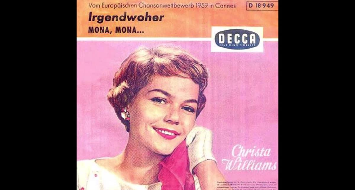 Криста Уильямс (Krista Williams) : учасница евровидения 1959 года из Швейцарии