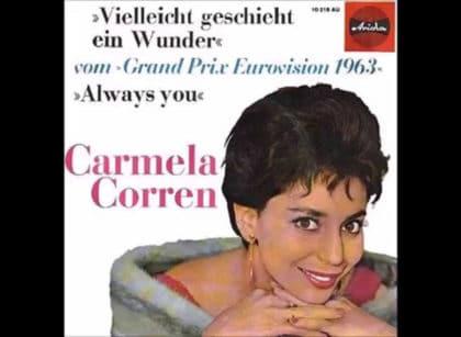Кармела Коррен (Carmela Corren): участница евровидения 1963 года из Австрии