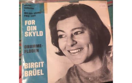 Биргит Брюль (Birgit Bruhl): участница евровидения 1965 года из Дании