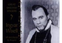 Ингвар Викселль (Ingvar Wixell): участник евровидения 1965 года из Швеции