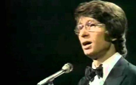 Никола ди Бари (Nicola Di Bari) участник Евровидения 1972 года из Италии