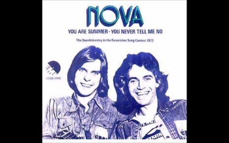 Группа Новас (The Novas): участники Евровидения 1973 года из Швеции