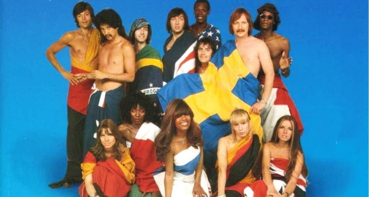 Группа Les Humphries Singers: участники Евровидения 1976 года из Германии.