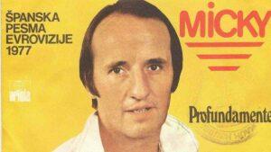 Микки (Micky): Участник Евровидения 1977 Года Из Испании