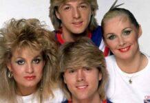 """Группа """"Бакс Физз"""" (""""Bucks Fizz""""): Победители Евровидения 1981 Года Из Англии"""