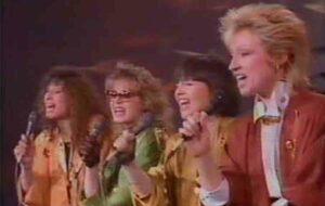 """Группа """"Коктейльный шик"""" (""""Cocktail Chic""""): Участники Евровидения 1986 Года Из Франции"""