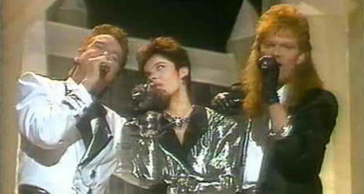 """Группа """"Лед"""" (Ice): Участники Евровидения 1986 Года Из Исландии"""