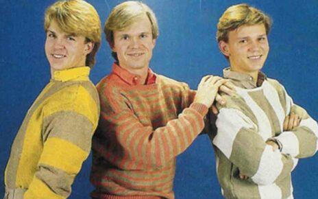 """Группа """"Херейс"""" (""""Herreys""""): участники Евровидение 1984 года из Швеции"""