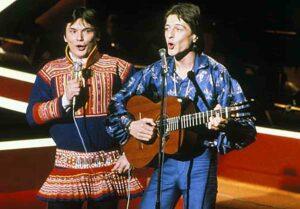 Дуэт Мэттис Хетта и Сверре Хьельсберг (Mattis Hitta and Sverre Hjelsberg): Участники Евровидения 1980 Года Из Норвегии