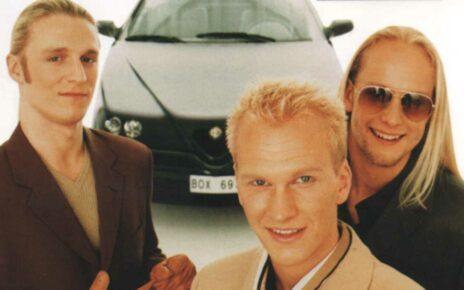 """Группа """"Blond"""" Участники Евровидения 1997 из Швеции"""