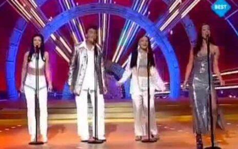"""Группа """"Sürpriz"""" (""""Сюрпрайз""""): Участники Евровидения 1999 из Германии"""