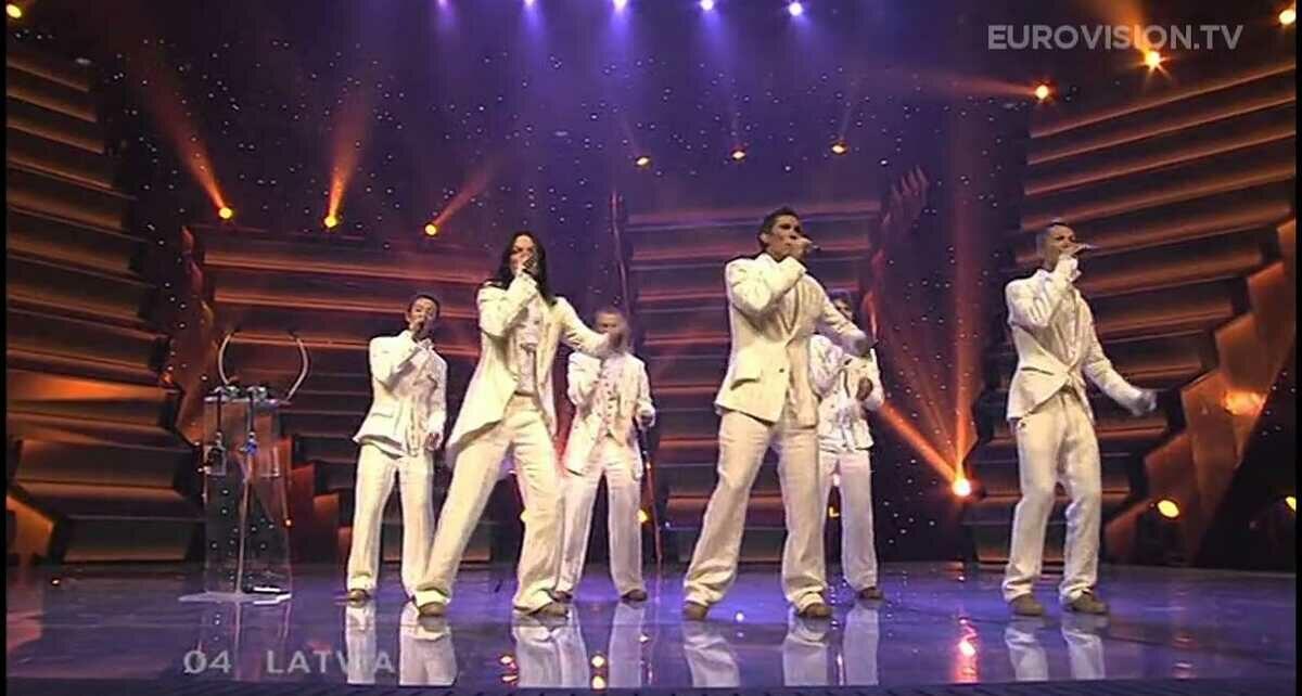 """Группа """"Cosmos""""(""""Космос""""): Участники Евровидения 2006 года из Латвии"""
