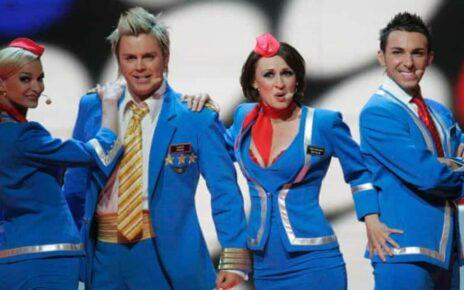 """Группа «Scooch» (""""Скуч""""): Участники Евровидения 2007 года из Великобритании"""