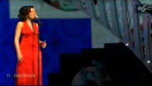 Софо Халваши (Sopho Khalvashi): Участница Евровидения 2007 года из Грузии