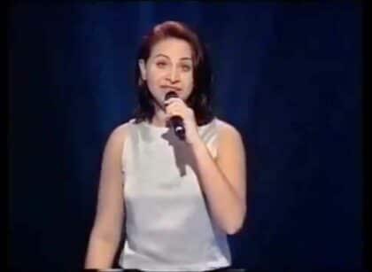 Натали Сорс (Nathalie Sorce): участница Евровидения 2000 года из Бельгии