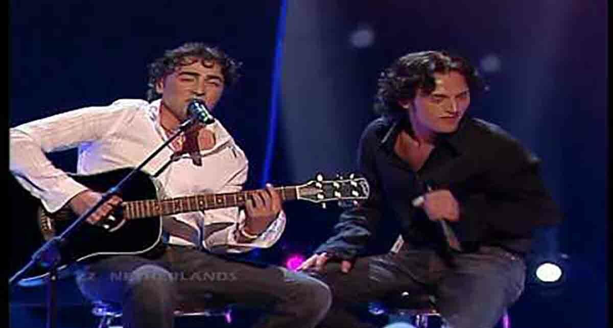 Дуэт Ре-унион («Re-union»): участники Евровидения 2004 года из Нидерландов