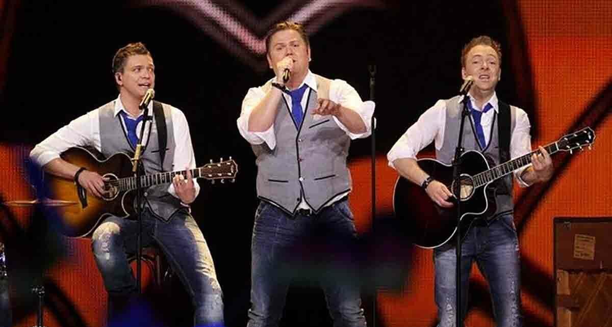 "Группа ""Sjonni's Friends"": участники Евровидения 2011 из Исландии"
