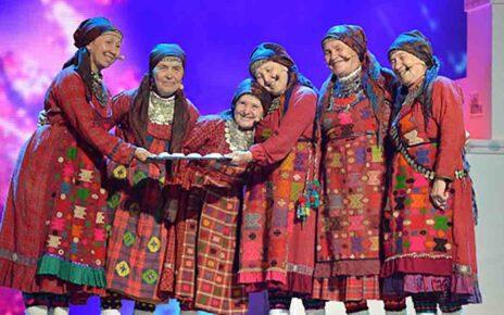"""Группа """"Бурановские бабушки"""" (""""Buranovskiye Babushki""""): участники Евровидения 2012 года из России"""