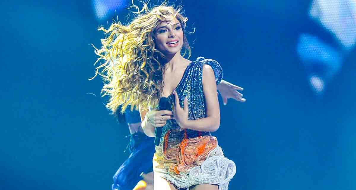 Элефтерия Элефтериу (Eleftheria Eleftheriou): участница Евровидения 2012 года из Греции