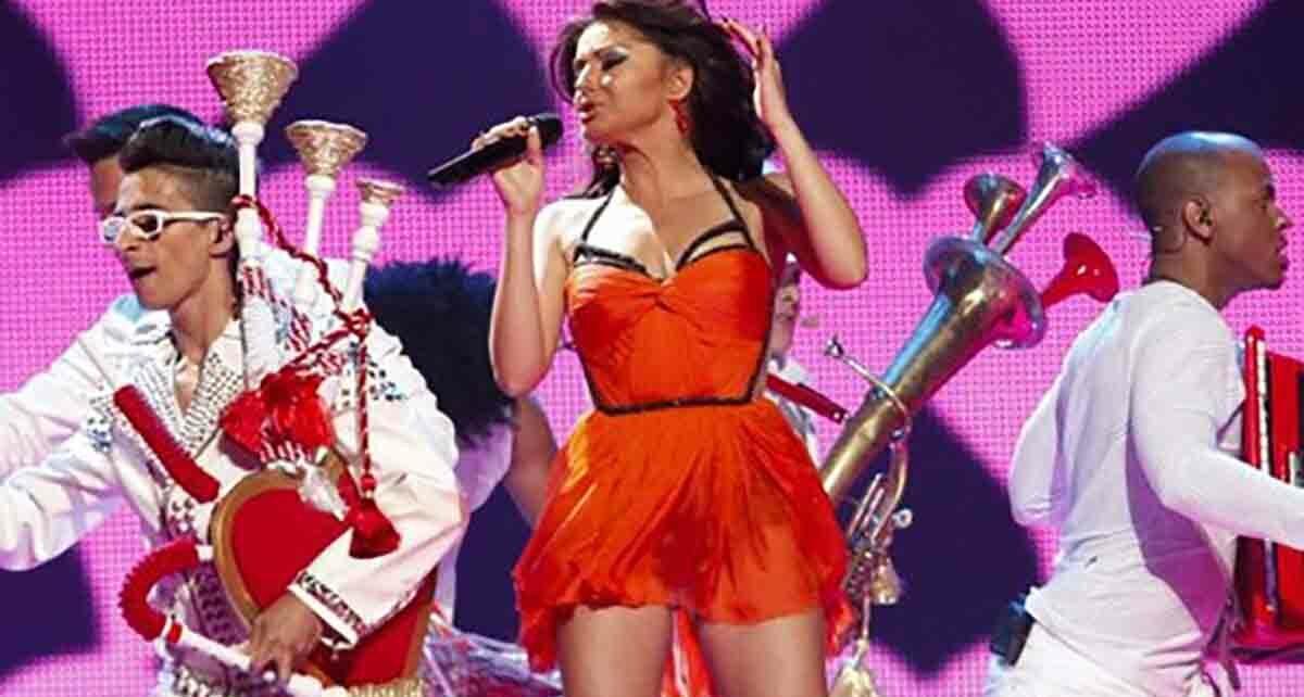"""Группа """"Mandinga"""": участники Евровидения 2012 года из Румынии"""