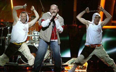 """Группа """"Гринджолы"""" (""""GreenJolly""""): участники Евровидения 2005 года из Украины"""