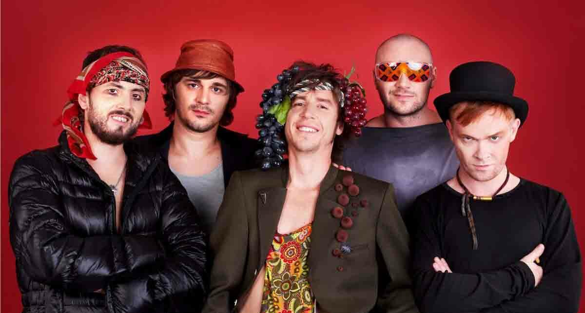 """Группа """"Zdob și Zdub"""": участники Евровидения 2005 года из Молдавии"""